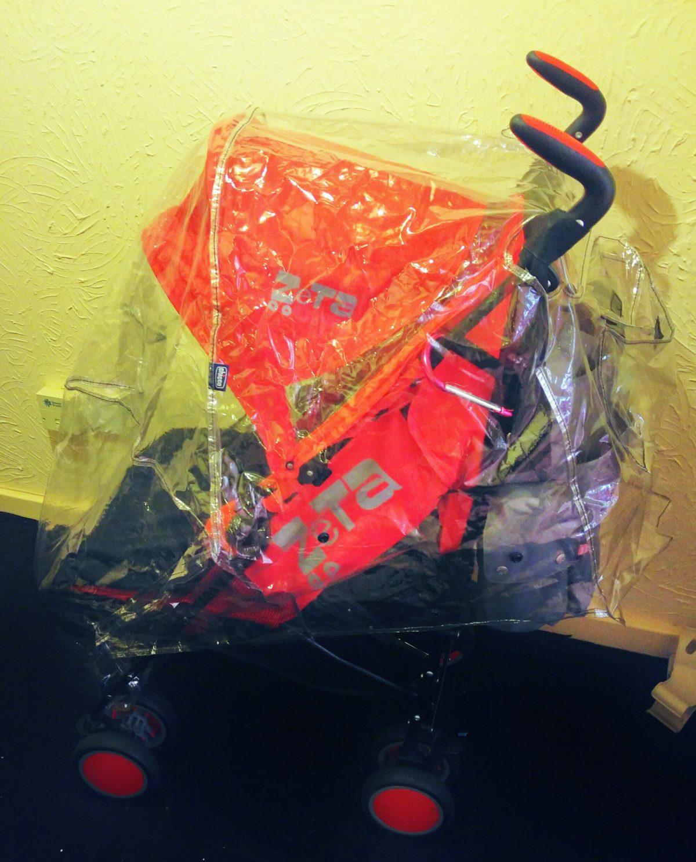 Zeta Citi Zoom Stroller with Rain Cover