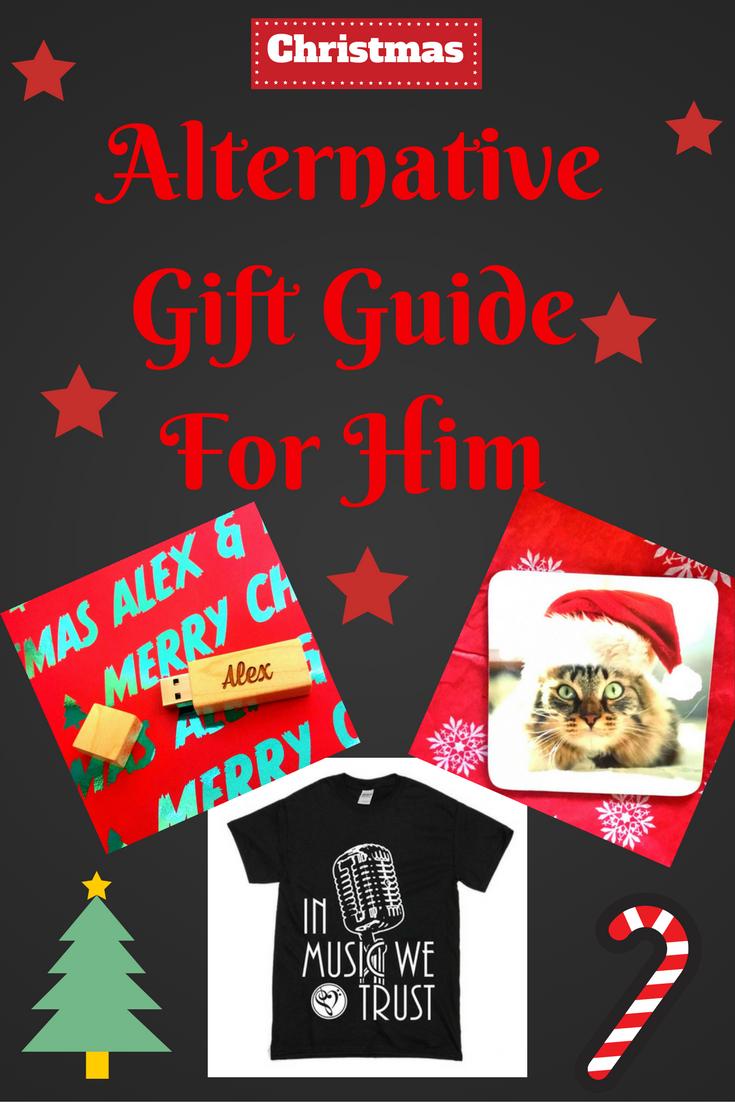 Alternative Gift Guide For Him