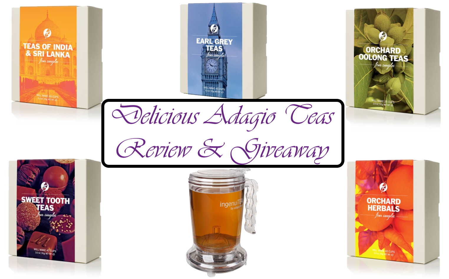 Delicious Adagio Teas Review & Giveaway