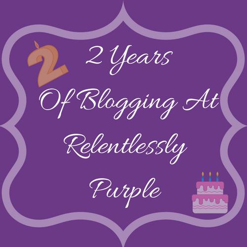 Relentlessly purple