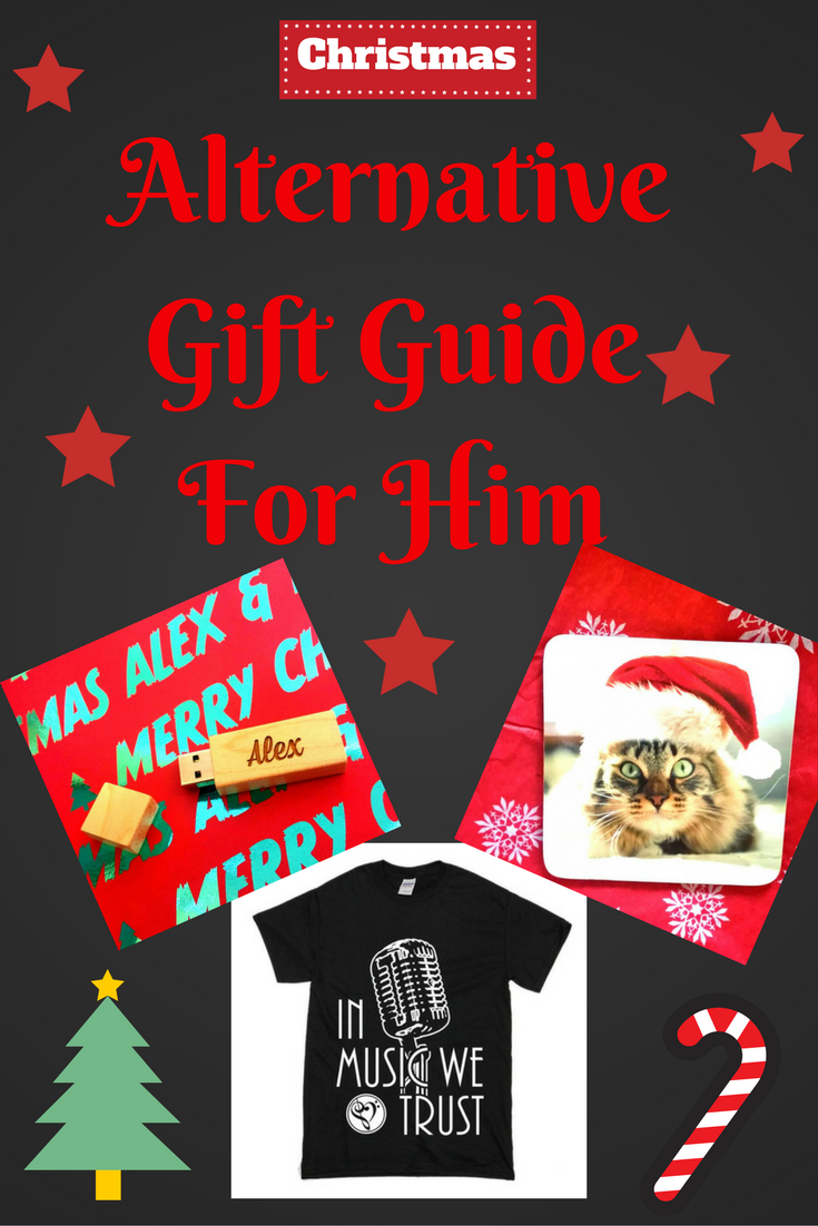 Alternative Gift Guide For Him