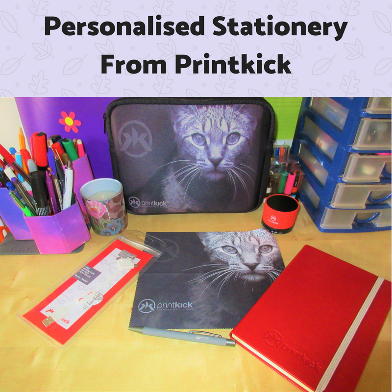 Personalised Stationery goody bag from Printkick