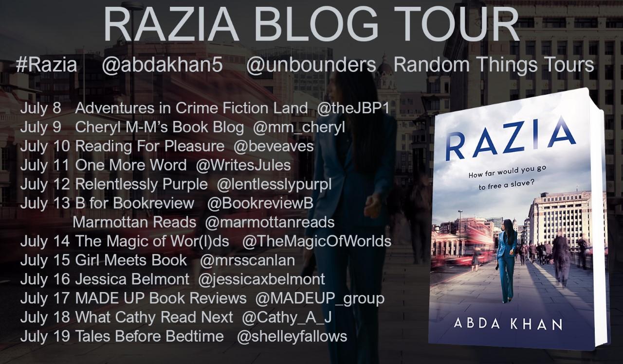 Razia Blog Tour